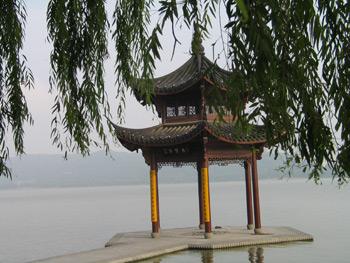 A view to Westlake Hangzhou, China