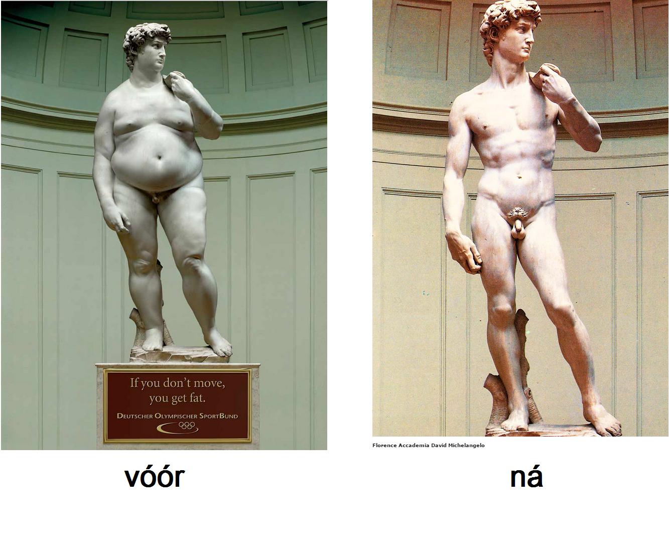 David fat - thin